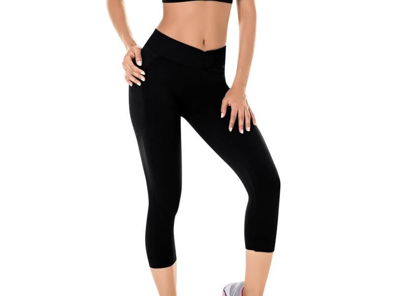 Calça Corsário Fitness Sem Costura - ZEE RUCCI