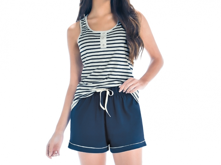 Pijama Blusa Regata e Short - ZEE RUCCI