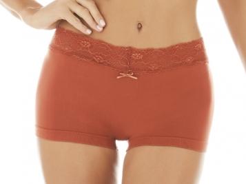 ZEE RUCCI - Calcinha Boxer Romantic Lace
