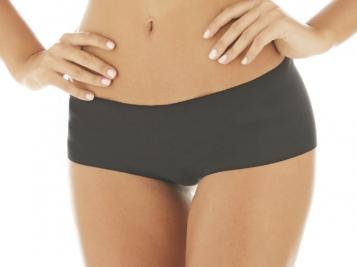 ZEE RUCCI - Calcinha Boxer Nude Cotton