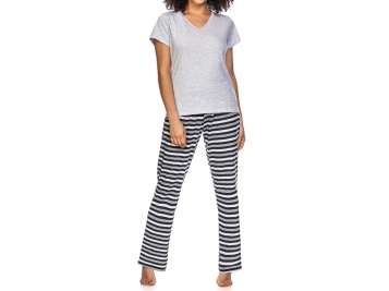 ZEE RUCCI - Pijama White & Blue Stripes