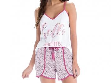 Pijama Blusa com Alça e Short