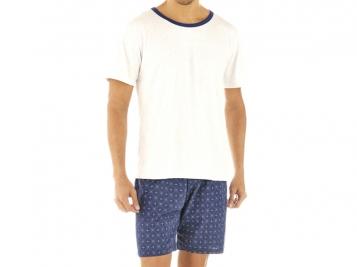 ZEE RUCCI - Conjunto Camiseta Mescla e Bermuda Estampada