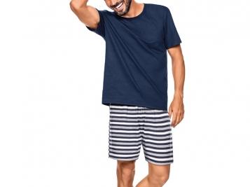 ZEE RUCCI - Pijama White & Blue Stripes